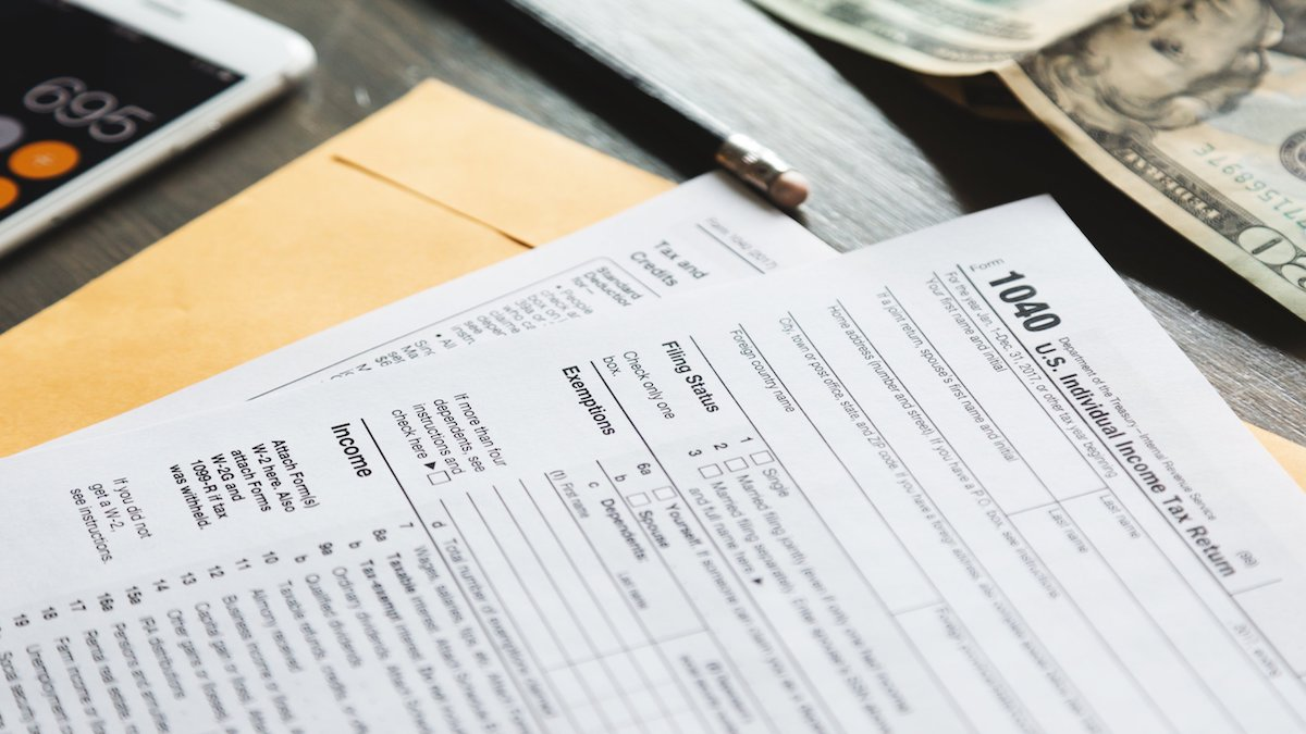 1040 tax return changes